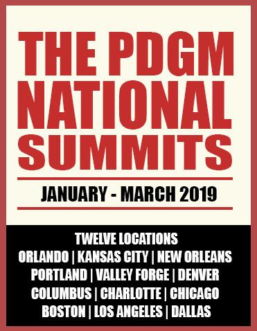 2019 PDGM Road Show Logo
